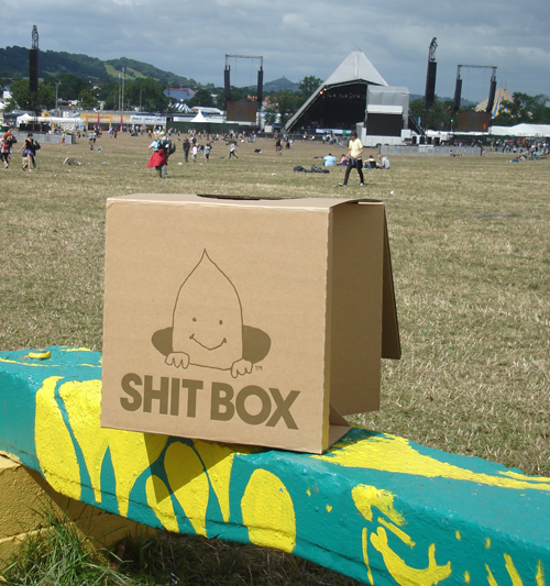 The Shit Box: Portable Cardboard Toilet For Going On The Go