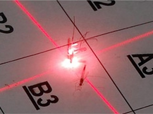 Scientists Develop Laser-Powered Mosquito Defense System